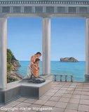 Vrouwenschilderij: Twee godinnen